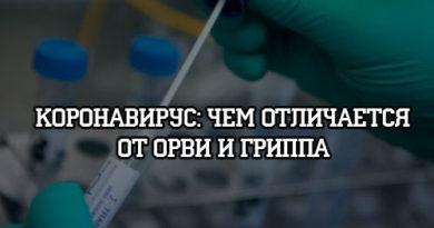 Чем Короновирус отличается от ОРВИ и гриппа