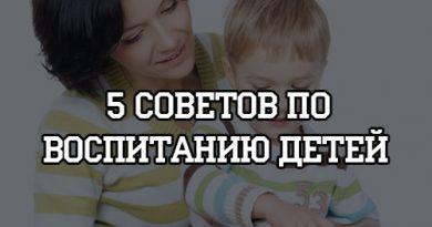 5 советов по воспитанию детей
