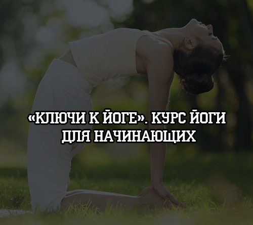 Ключи к йоге. Курс йоги для начинающих
